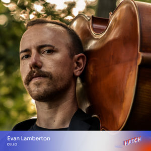 Evan Lamberton, cello