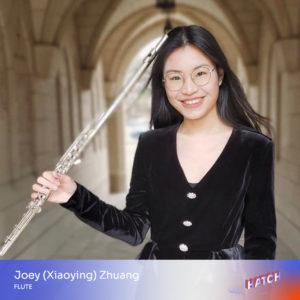 Joey (Xiaoying) Zhuang, flute