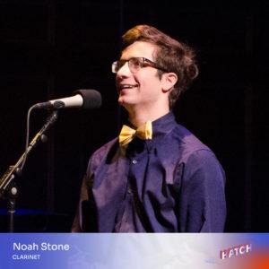 Noah Stone, clarinet