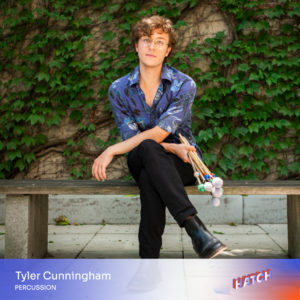 Tyler Cunningham, percussion